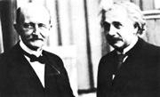 Scientists Planck & Einstein